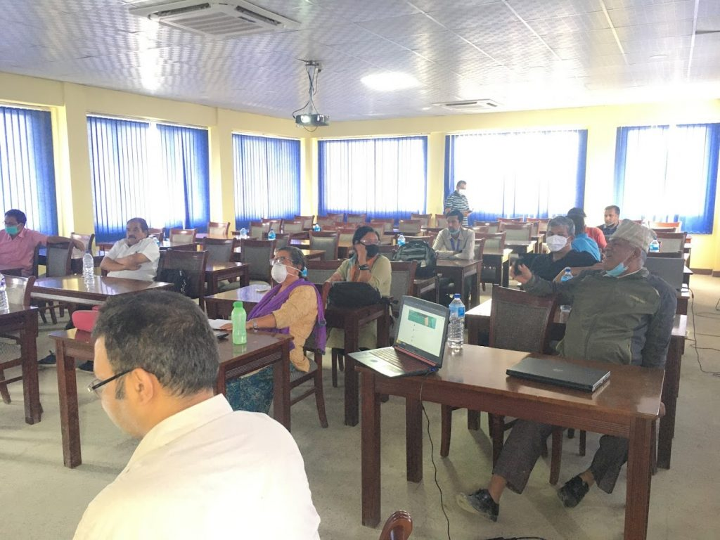 Online class training for teachers at Central Department of Public Administration